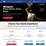 NBA League Pass 2017 - 2018 - 2 Day Trial Then 20% off Season - $93.40 AUD (VPN Required)