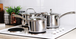 Win 1 of 3 RACO Commercial Saucepans and Skillets Prize Packs worth ~$450ea. from Mum Central