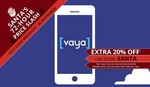 New Customers $9.95 for 4 Months of Vaya Unlimited 1.5GB Mobile Plan (~$2.49 per Month) @ Groupon