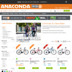 Fluid Sprint 3.0 Commuter Men's and Women's Bicycles $349 (Was $999) @ Anaconda
