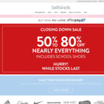 Betts Kids: 50% to 80% off Nearly Everything - All Stores Closing