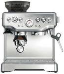 Breville BES870BSS The Barista Espresso Coffee Machine $543.20 C&C @ The Good Guys eBay