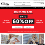 Up to 60% off Selected Styles + Free Delivery for Orders > $75 @ Glue Store