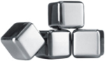 VACU VIN Stainless Steel Whiskey Stones, Set of 4 for $23.97 @ Myer (Was $39.95)