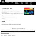 [NSW] 15% off TFE Hotels - Stays from $150 p/n