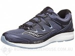 Saucony Triumph ISO 4 Men's Shoes Grey/Black $75 + $5 Shipping from Running Warehouse