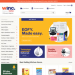 Winc (Formerly Staples) - 10% off Sitewide When You Spend $75 or More