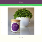 50% off Soy Candles ($10 Shipping for VIC or Free with orders over $100) @ Twenty 7 Candles