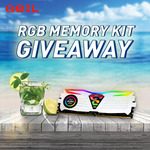 Win a GeIL Super Luce RGB 16GB DDR4-2400MHz White Memory Kit from GeIL