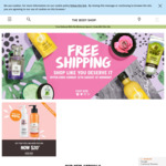 Free Shipping All Weekend @ The Body Shop