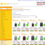 Delsey Grenelle 12 Hours Sale - 60% off with Free Delivery @ Luggage Gear