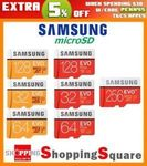 Samsung EVO Plus MicroSD 256GB $83.95 ($79.28 with eBay Plus) Delivered @ Apus Express eBay