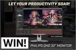 """Win a Philips 32"""" QHD IPS Monitor Worth $599 from PC Case Gear"""