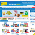 $5 off Plus Free Shipping Over $70 @ Pharmacy Direct