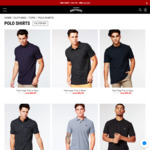 All Polos Now $20 (Was $39.99) + Free Shipping Over $50 @ Hallensteins