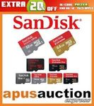 SanDisk Ultra 100MB/s MicroSD 128GB $29.94 Delivered @ Apus Auction eBay