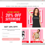 20% off Sitewide @ Stylerunner (Women's Activewear & Sneakers from Nike, adidas, Puma and More)