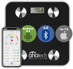 Bluetooth Smart Digital Bathroom Body Fat Composition Scale $26.39 (after 20% Discount) Free Shipping @ AHATECH