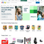10% off Eligible Items ($120 Min Spend, $200 Max Discount) @ eBay
