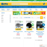 Up to $200 Bonus Betta Gift Card on Selected Products @ Betta