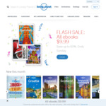 Lonely Planet All eBooks Reduced $9.99 @ Lonely Planet