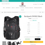 "57% off  SWISSWIN School & Business Style Backpack 15.6"" Laptop $65 Shipped @ Traveller's Home"