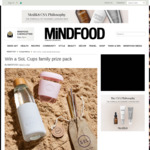 Win a SoL Cups Family Prize Pack Worth $248.94 from MiNDFOOD