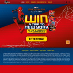 Win a Trip to New York for 2 Worth $20,000 +/- 1 of 55 $500 VISA Gift Cards from Smith's Snackfood Company [Purchase Doritos]