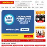 1000 Bonus Flybuys Points for C&C ($1 Min Spend) @ LiquorLand