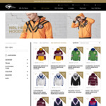 NRL Heritage Hoodies $24 (RRP $79.99) + $9.99 Shipping @ Classic Sportswear