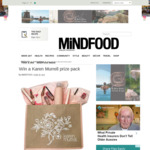 Win a Karen Murrell Prize Pack Worth $350 from MiNDFOOD