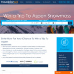 Win a Trip to Aspen Snowmass for 2 Worth $8,900 from Travelplan Australia