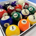"""Jim Beam Official Licensed 2"""" Pool Balls Set $79.99 (Was $109.99) / if Sydney Pick-up $69.99 @ T&R Sports"""