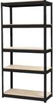 [SA] Odin Black Slot-N-Lock 5 Shelf Unit 1800x 900x 400mm $30 @ Stratco