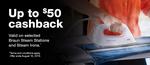 Braun Iron Cashback $30 to $50
