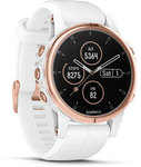 Garmin Fenix 5S Plus Sapphire - Rose Gold with White Band (010-01987-0B) $599 Delivered @ Johnny Appleseed GPS
