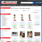 Street Fighter Figurines (Cammy/Sakura/Chun-Li) - $19.95 Each + Delivery (Free C&C) @ The Gamesmen