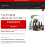 Buy Dad a Craft Beer Subscription and Get a Free $50 Voucher @ Craft Cartel