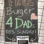 [VIC] Free Burger @ Mad Patties (for Fathers)