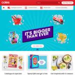 Get $10 off Your Shop (Min Spend $100) @ Coles Online