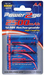 Power2Go AA Nimh Rechargeable Batteries 4 Pack $5 Delivered @ Autoelec