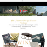 Win a Design Homeware Package incl a Bang & Olufsen Beosound Edge Worth Over $42,000 from Indesign Publishing Pty Ltd