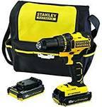 Stanley Fatmax FMC608D2S-XE18V Brushless Drill Driver Kit $96.21   FMC628D2S-XE18V $125.24 Delivered @ Amazon AU