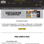 Science in Sport (SIS) - Free Sample Pack + $10 Shipping or Free for Orders over $15