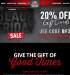 20% off Gift Cards @ The Sporting Globe