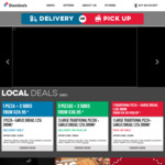 Traditional Pizza Range $7.95ea, 3 Traditional Pizzas + 3 Sides $29.95 (Pick up) / $35.95 (Delivered) @ Domino's