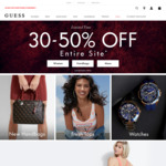 30-50% off Storewide @ GUESS
