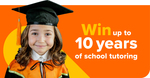 Win Up to 400 Sessions of English/Maths/Chemistry Tutoring Worth Up to $32,000 from Cluey Learning