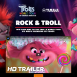 Win 1 of 791 Daily Prizes or a Trolls World Tour Red Carpet Experience Worth $10,000 from Yamaha Music Australia