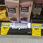 [ACT] Arnott's Simple Batch $1.60 (Was $4) @ Woolworths, Holt